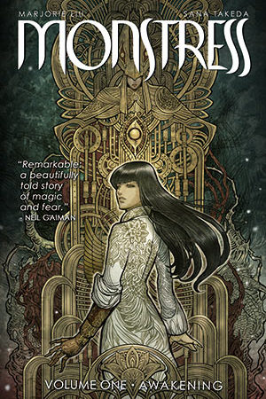 Monstress Comic Volume 1 by Marjorie Liu