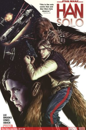 Han Solo Comic by Marjorie Liu