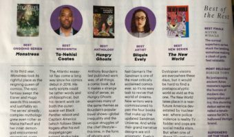 Entertainment Weekly! A Hardcover Release!